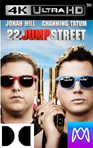 22 Jump Street - Vudu 4K or iTunes 4K via MA - (Digital Code)