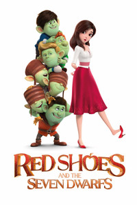 Red Shoes and the Seven Dwarfs - Vudu HD or iTunes HD - (Digital Code) EARLY RELEASE!