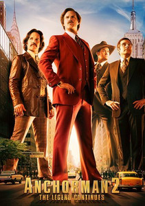 Anchorman 2: The Legend Continues - Vudu HD (Digital Code)