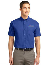 Men's Short Sleeve Easy Care Shirt
