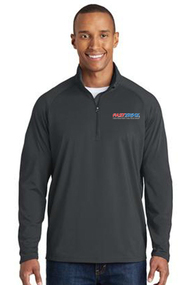 Men's 1/2  Zip Stretch Pullover