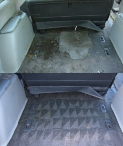 car carpet extractor for detailing