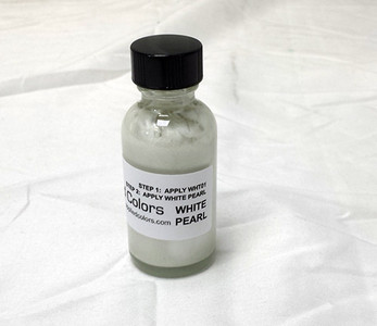 1 Oz. Bottle White Pearl