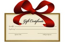 gift certificates for car detailers