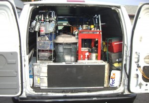 organized detailing van