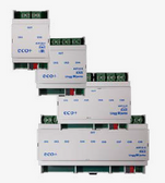 KNX eco+ Switching Actuators 16A C Load 200μF 2-9 Channels