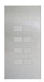 KNX Design Tableaus - Serie Largho 8