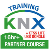 KNX Partner – BASIC CERTIFICATION + ETS5 Lite USB DONGLE – 16*hrs - Practical Training Only – Theory by yourself