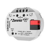 inBOX 20 v2 - Multifunction actuator for flush mounting with 2 outputs (16 A C-Load)