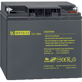 Lead gel battery 12V 18Ah - MTN668991