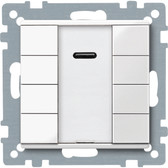 System M KNX Push-Button 4-Gang with IR Receiver
