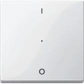 System M Rocker f. 1-Gang Push-Button Module w. 1/0 Imp.