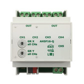KNX quick Switching Actuator 16A C Load 140μF 5-Channels - AH5F16-Q