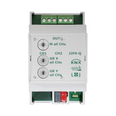 KNX quick Blind / Shutter Actuator 2/4/6 Channels