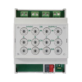 KNX Quick Binary Input 4-Fold, for dry contacts - BE4FK-Q