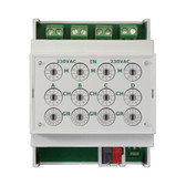 KNX Quick Binary Input 4-Fold, signal voltage 230V - BE4F230-Q