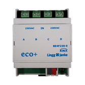 KNX eco+ Binary Inputs 4-Fold, signal voltage 230V - BE4F230-E