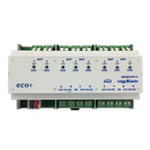KNX eco+ Binary Input / Binary Output 8-Fold, signal voltage 24V - BEA8F24H-E
