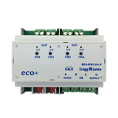 KNX eco+ Binary Input / Binary Output 4-Fold, for dry contacts - BEA4FK16H-E