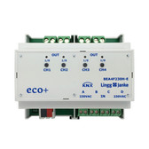 KNX eco+ Binary Input / Binary Output 4-Fold, signal voltage 230V - BEA4F230H-E