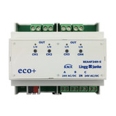 KNX eco+ Binary Input / Binary Output 4-Fold, signal voltage 24V - BEA4F24H-E