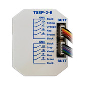 KNX eco+ Push Button Interface with 8 Inputs - TS8F-2-E