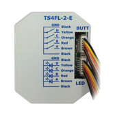KNX eco+ Push Button Interface with 4 Inputs and 4 Outputs (LED) - TS4FL-2-E