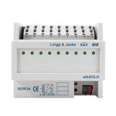 KNX Binary Input 9-Fold, Signal Voltage 24V - Be9F24