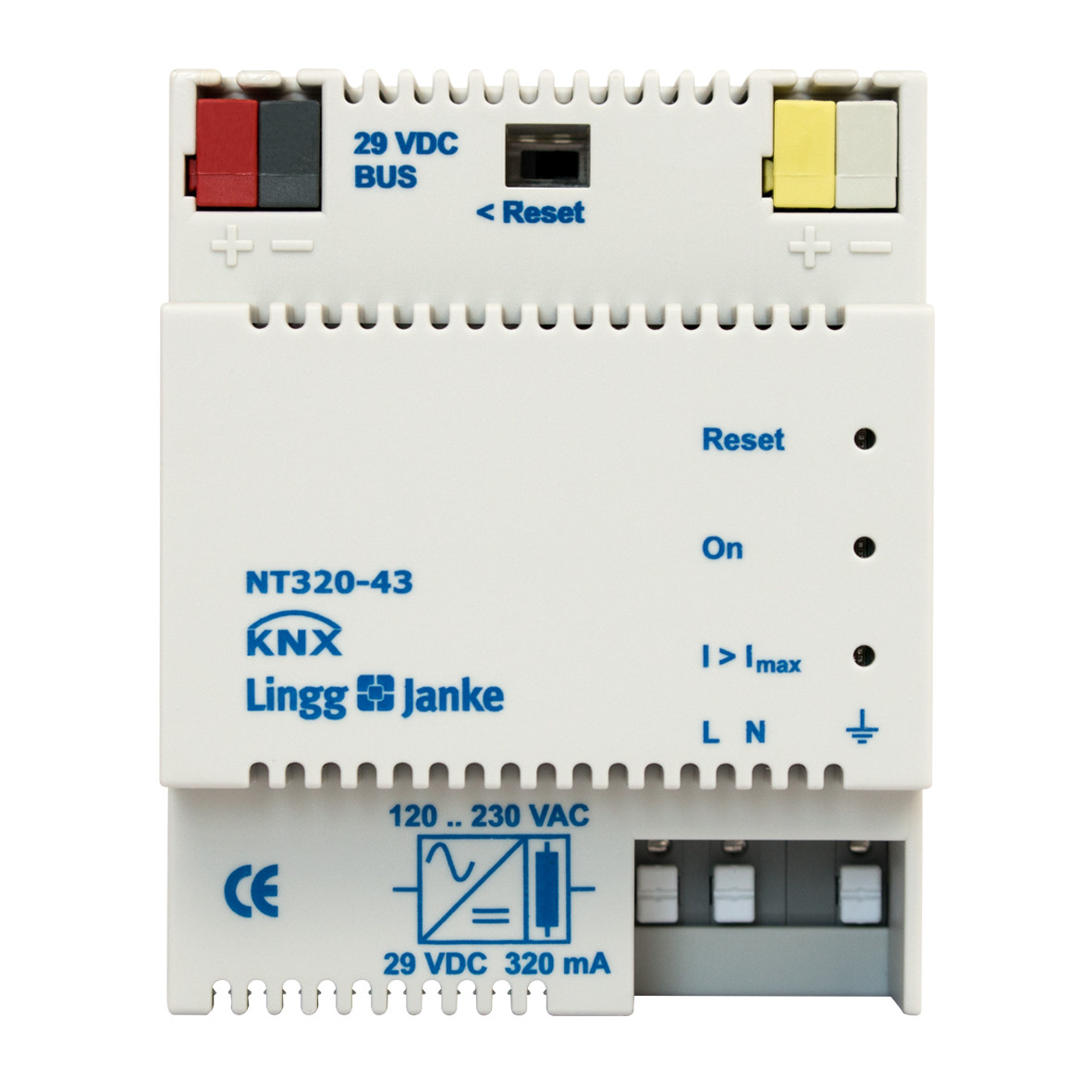 KNX Power Supply 320mA - NT320-43 - KNX Shop Online