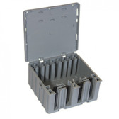 WAGOBOX XL junction box for 221 & 2273 Series - Grey