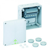 TOPJOB® S Terminal Blocks Mounted in Abox 100 - Polycarbonate