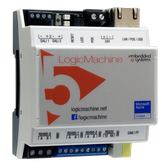 LM5Cp2-DR - LogicMachine5 Power CANx with CAN FT | ModBus | BACnet