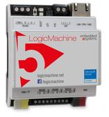 LM5p2-KC - LogicMachine5 Power KNX+CANx with CAN FT & KNX TP1