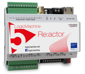 LM5p2-RIO2E - LogicMachine5 Reactor IO V2 EnOcean Power