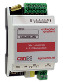 CANx / LoRa 433 MHz 6 x 0-10V Analog Outputs