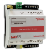 CANx / LoRa 433 MHz 4 x 5A Relays