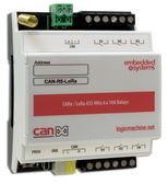 CANx / LoRa 433 MHz 6 x 10A Relays
