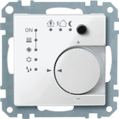 System M KNX RTR Unit with 4-Gang Push Button Interface
