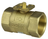 2-Way Regulating Ball Valve with Female Thread - PN40