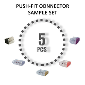 Push Fit Connectors - Sample Set - All Size x5