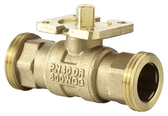 2-Way Regulating Ball Valve with Male Thread PN40