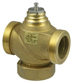 2-Way Valve With Male Thread PN16