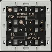 F40 Standard Push-Button Module 3-Gang
