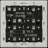 F40 Standard Push-Button Module 4-Gang