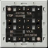 F40 Universal Push-Button Module 1-Gang