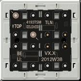 F40 Universal Push-Button Module 3-Gang