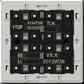 F40 Universal Push-Button Module 4-Gang