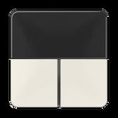 [CD]F40 Cover Kit for RCD Module 2-Gang