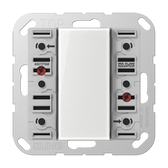 [A/AS]F50 Standard Push-Button Module 3-Gang