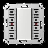 [A/AS]F50 Universal Push-Button Module 2-Gang